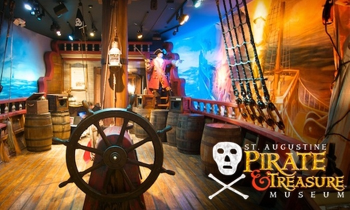St. Augustine Pirate & Treasure Museum - St. Augustine: $12 for Two General-Admission Tickets to St. Augustine Pirate & Treasure Museum