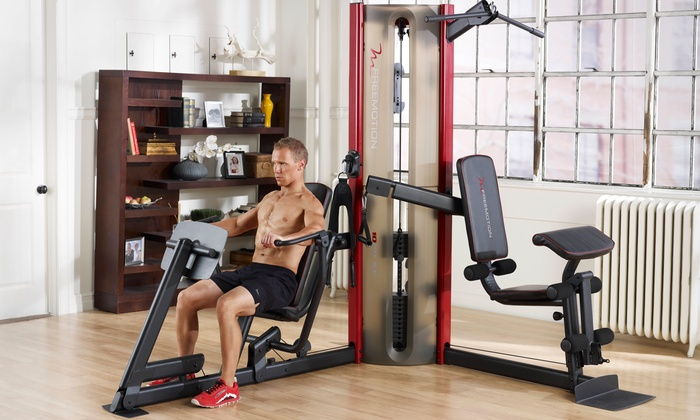 Freemotion dual station home gym groupon goods