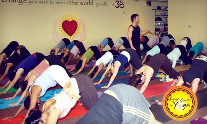 Surya Center for Yoga - Coppell: $29 for a One-month Unlimited Pass at Surya Center for Yoga in Coppell
