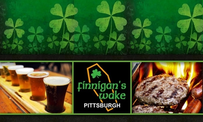 Finnigan's Wake - Northshore: $10 for $20 Worth of Pub Fare and Drinks at Finnigan's Wake