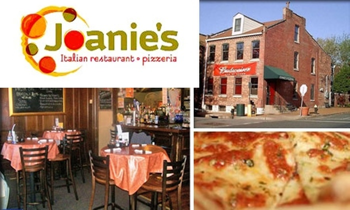 Joanie's Pizzeria - Soulard: $10 for $20 Worth of Slices and More at Joanie's Pizzeria
