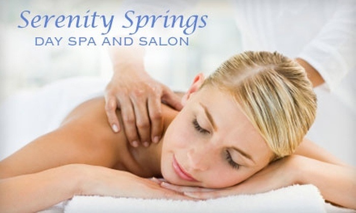 Serenity Springs Salon and Day Spa - Powers: $30 for $65 Worth of Services at Serenity Springs Salon and Day Spa