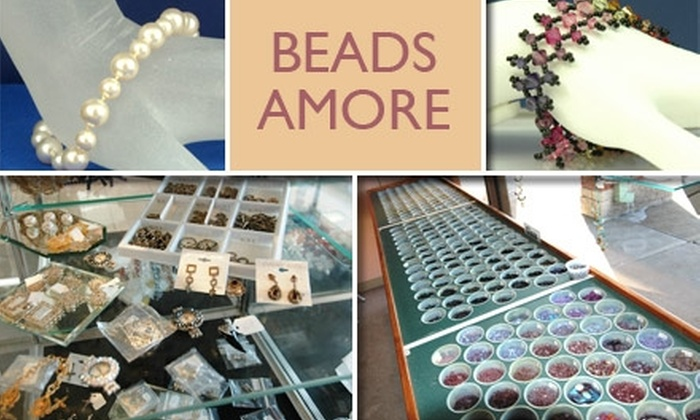 Beads Amoré - Washington:  $19 for Two Jewelry-Beading Classes at Beads Amoré