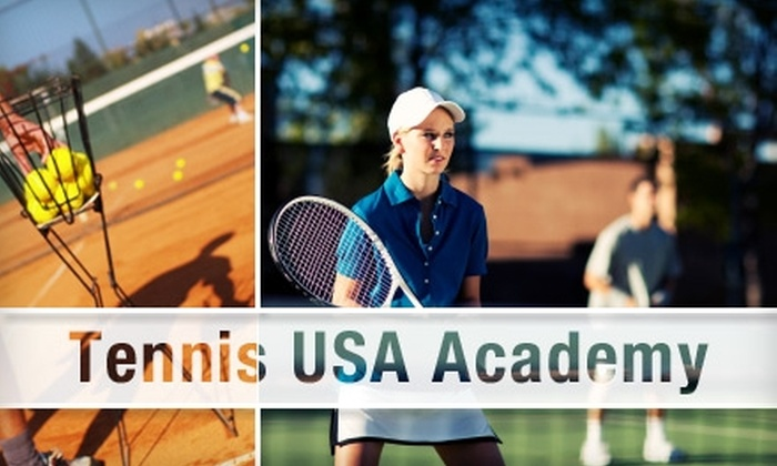 Tennis USA Academy - Multiple Locations: $49 for Three 90-Minute Group Tennis Lessons from Tennis USA Academy ($148 Value)