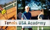Tennis USA Academy CLOSED - Multiple Locations: $49 for Three 90-Minute Group Tennis Lessons from Tennis USA Academy ($148 Value)
