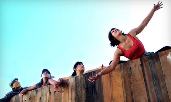 Flying Yoga - Temescal: $20 for 10 Fitness Classes at Flying Yoga in Oakland (Up to $124 Value)