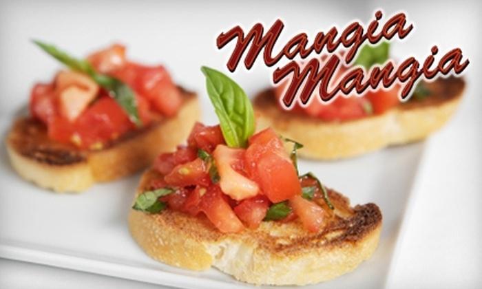 Mangia Mangia - Central Business District: $10 for $20 Worth of Italian Fare at Mangia Mangia