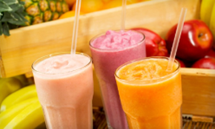 The Juice Press - Lindon: Five or 10 Smoothies with One Boost Per Smoothie at The Juice Press in Lindon