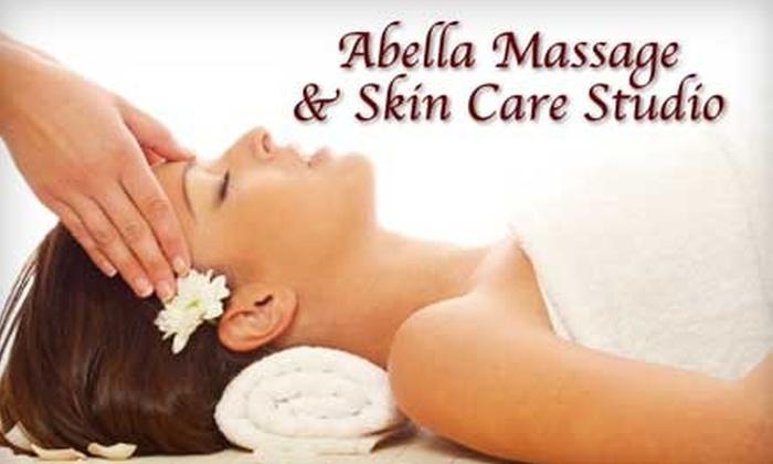 Abella Massage & Skin Care Studio - Centennial: $32 for a One-Hour Swedish Massage plus $25 in Spa Cash at Abella Massage & Skin Care Studio