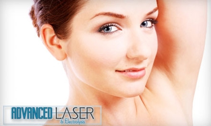 Advanced Laser & Electrolysis - Multiple Locations: $110 for Three Laser Hair-Removal Treatments at Advanced Laser & Electrolysis (Up to $780 Value)