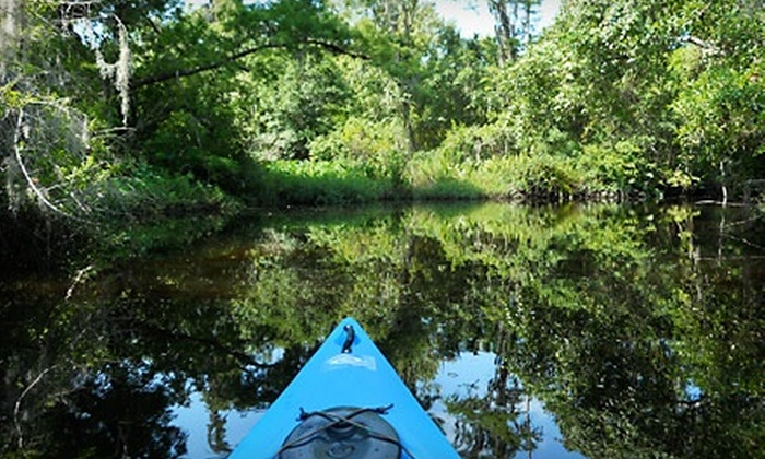 O-Sea-D Aquatic Adventures - Placida: $45 for a Woolverton Trails Kayaking Tour for Two from O-Sea-D Aquatic Adventures in Placida ($96.30 Value)