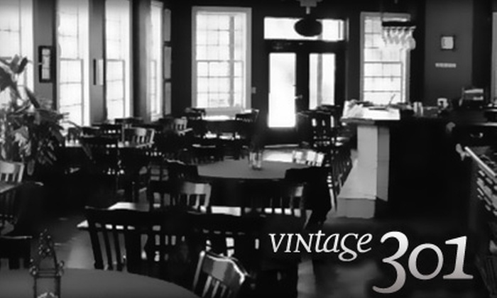 Vintage 301 - Piedmont Triad: $15 for $30 Worth of Tapas-Style Cuisine at Vintage 301