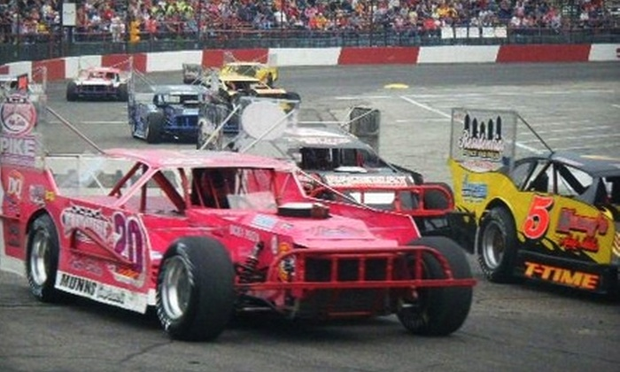 Indianapolis Speedrome - Warren: $22 for Four Tickets to Opening Night at Indianapolis Speedrome (Up to $44 Value)