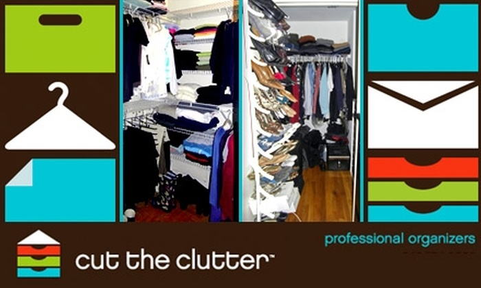 Cut The Clutter - New York City: $55 for Two Hours of Organizing Services from Cut the Clutter ($200 Value)