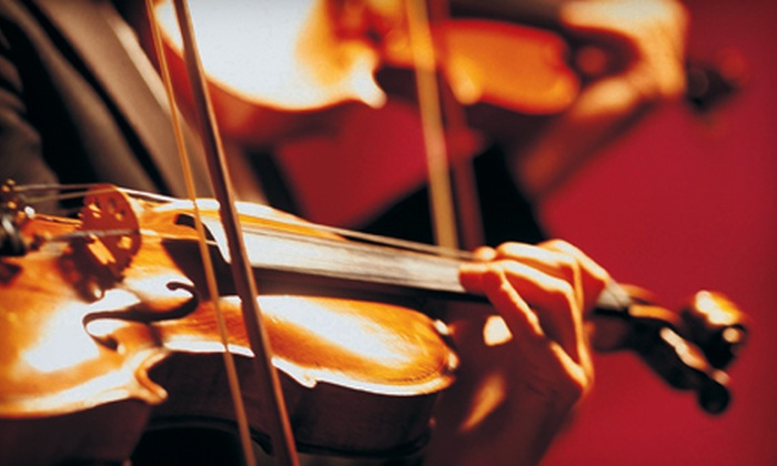 Hershey Symphony Orchestra - Hummelstown: Two or Four Tickets to the Hershey Symphony Orchestra at Evangelical Free Church of Hershey in Hummelstown on October 28