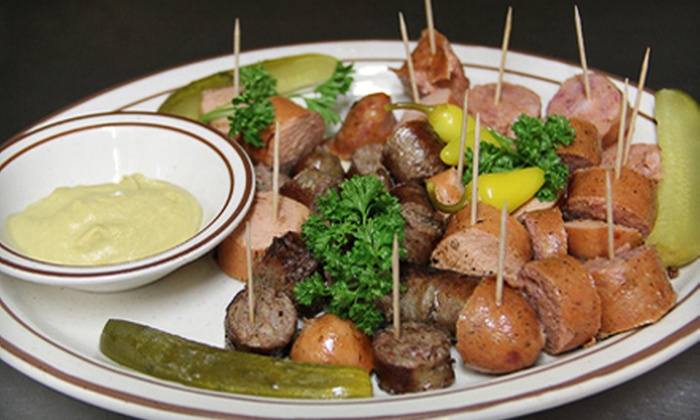 Red Lion Tavern - Silver Lake: Oktoberfest Special Meal for One or German Dinner for Two at Red Lion Tavern