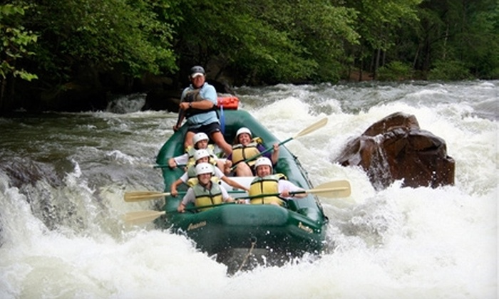Adventures Unlimited - 2: Whitewater-Rafting Trip on the Middle Ocoee River from Adventures Unlimited in Ocoee. Three Options Available.