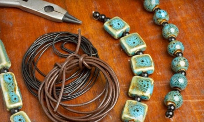 Elliot Jordan Studio Gallery - Pleasant Ridge: $30 for Ten Weeks of Rhythm of Wire Work Jewelry Classes at Elliot Jordan Studio Gallery ($80 Value)