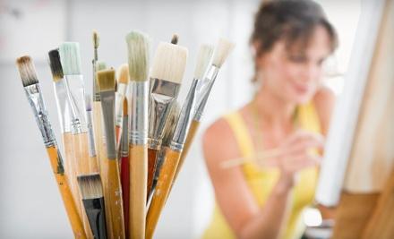 4 Adult Art Classes (a $170 value) - Art Connects Art School in Mt. Pleasant