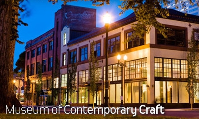 Museum of Contemporary Craft - Pearl: Up to 55% Off Membership to the Museum of Contemporary Craft. Choose from Two Options.