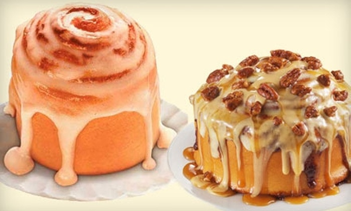 Cinnabon - Multiple Locations: $7 for $15 Worth of Baked Goods and More at Cinnabon