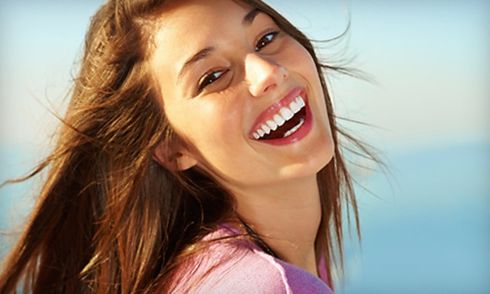 Auvil's Sweet Nothings - Bay Area: $74 for Three Beaming White Teeth Whitening Treatments ($149 Value) or $94 for Three Beaming White Teeth Whitening Treatments and Makeover ($189 Value) at Auvil's Sweet Nothings
