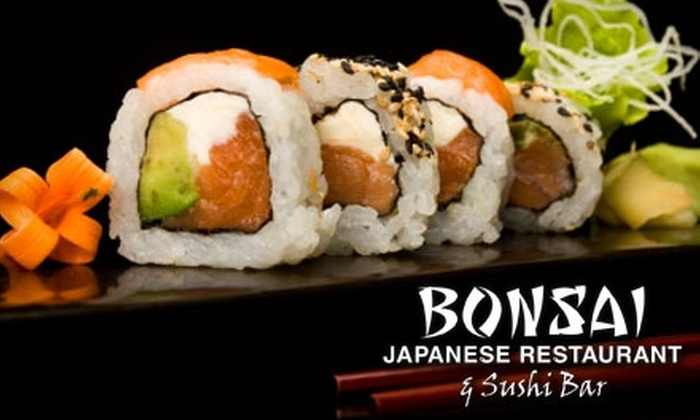 Bonsai Japanese Restaurant & Sushi Bar - Greensboro: $12 for $25 of Sushi and More at Bonsai Japanese Restaurant & Sushi Bar