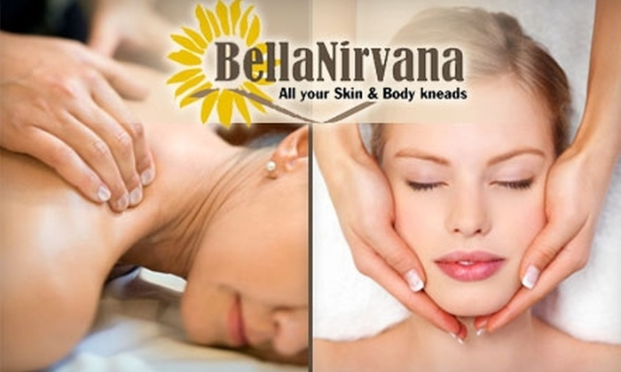 BellaNirvana - Edgemar - Pacific Manor: $77 for 60-Minute Facial and 60-Minute Massage at BellaNirvana in Pacifica ($155 Value)