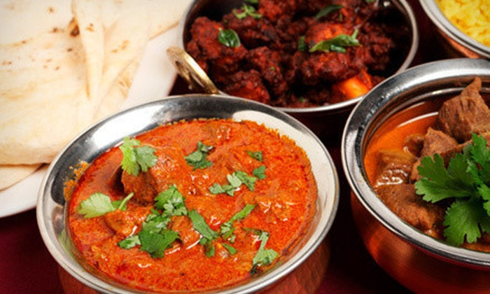 Viceroy of India - Multiple Locations: $10 for $25 Worth of Indian Cuisine and Drinks at Viceroy of India in Chicago and Lombard