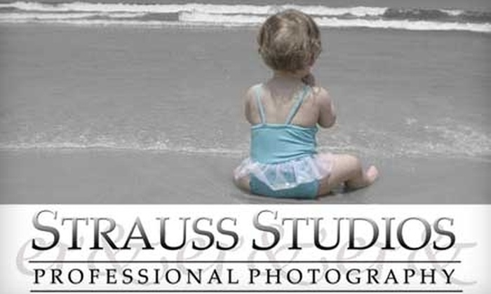 Strauss Studios Professional Photography - Smallwood: $59 for On-Site Photo Session, CD with Copyright Release, and $20 Print Gift Card from Strauss Studios Professional Photography ($120 Value)