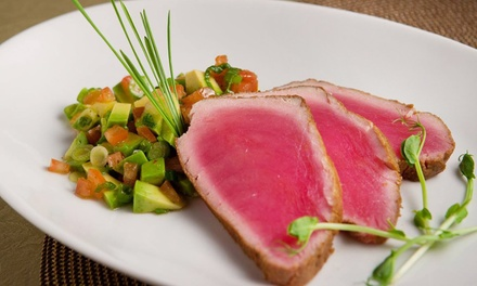 Tapas Dinner with Dessert for Two or Four at Vega Tapas Cafe (47% Off). Groupon Reservation Required.
