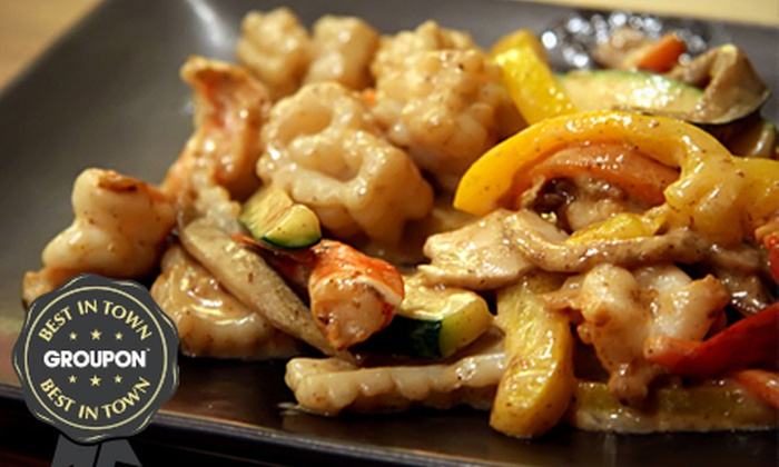Jinja Tree - Doncaster: Three-Course Teppanyaki Meal For Two (£29) or Four (£56) at Jinja Tree (Up to 53% Off)