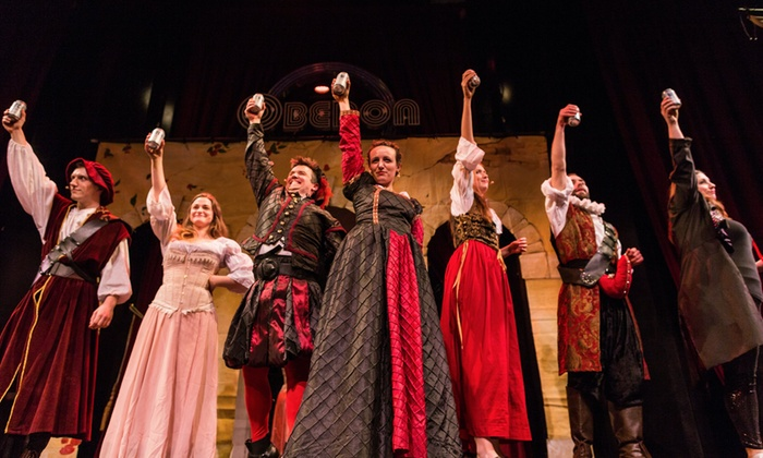 """""""Sh!t-Faced Shakespeare: Much Ado About Nothing"""" (December 8–30)"""