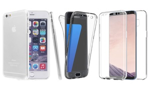Coque protection intégrale ultra transparent