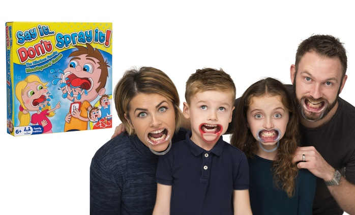 Say It, Don't Spray It Family Party Game for £10.99 (45% Off)