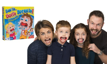 One (£10.99) or Two (£21.98) Say It, Don't Spray It Family Party Games (35% Off)