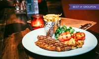 Sirloin or Ribeye Steak Dinner for Two or Four at Saint Judes