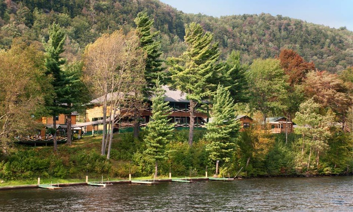 North Woods Inn & Resort - Webb: $180 for a Two-Night Stay for Up to Four at North Woods Inn & Resort in Old Forge, NY (Up to $300 Value)