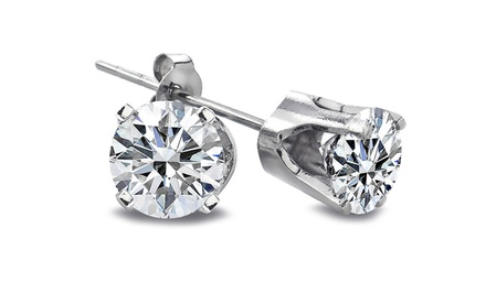 1/4 CTTW Diamond Stud Earrings in 14K Gold