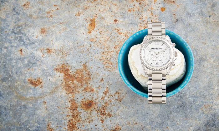 Michael Kors: $159.99 for a Michael Kors Women's Watch ($225 List Price). Free Shipping and Returns.