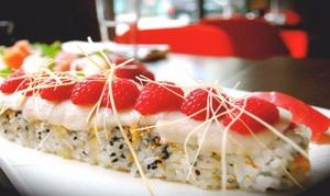 Rise Sushi and Sake Lounge: $16 for $30 Worth of Sushi and Japanese Cuisine at Rise Sushi and Sake Lounge