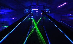 Lazer Tag Cambridge: One Game of Laser Tag and Balladium for Two, Four, Six, or Eight at Lazer Tag Cambridge (Up to 60% Off)