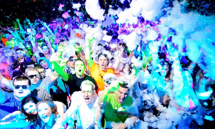 Electric Foam 5K - Fairfield: One or Two Entries to Electric Foam 5K at Richmond International Raceway on Saturday, July 26 (Up to 41% Off)