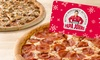 2 Free Large Pizzas with $25 Voucher Purchase (55% Off)– All Locations