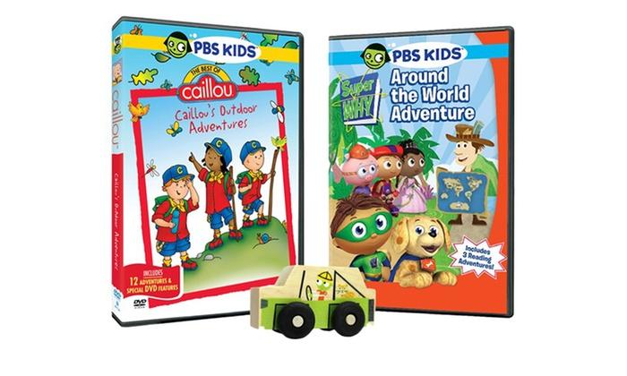 Pbs Kids Dvd Toy Bundle Super Why