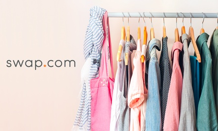 $10, $20, or $30 Voucher toward Online Thrift and Consignment Shopping at Swap.com (50% Off)
