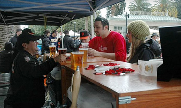 Peninsula Oktoberfest hosted by Bullfrog Media - Centennial: $12 for a Peninsula Oktoberfest Outing with a Souvenir Mug and Two Beers on October 15 in Redwood City ($25 Value)