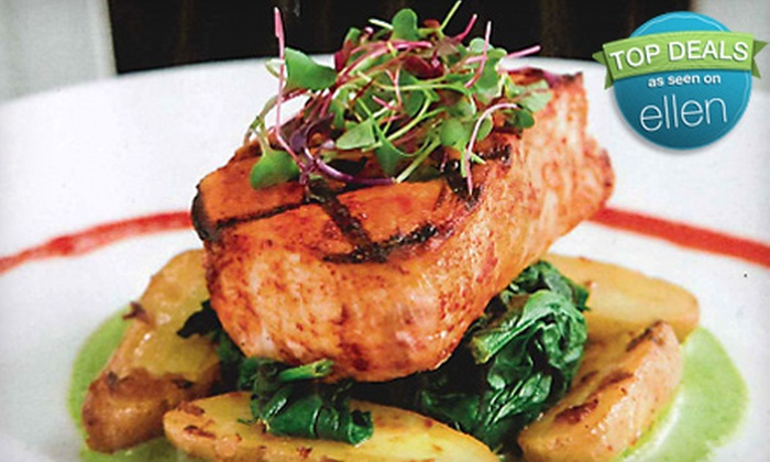 Milan - Little Italy: $39 for a Contemporary Italian Dinner for Two with Dessert at Milan (Up to $116 Value)