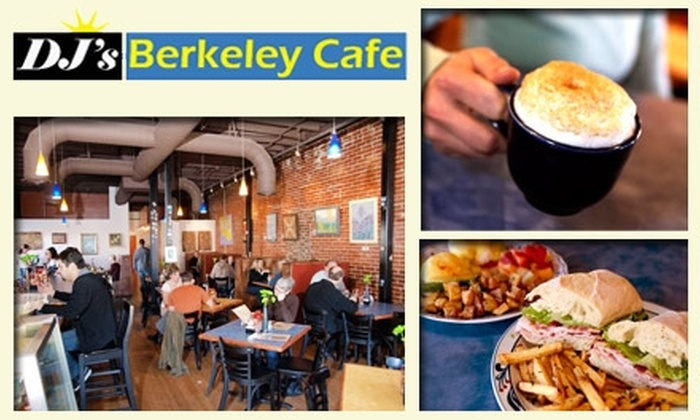 Dj's Berkeley Cafe - Berkeley: $10 for $28 Worth of Sips and Savories at DJ's Berkeley Café