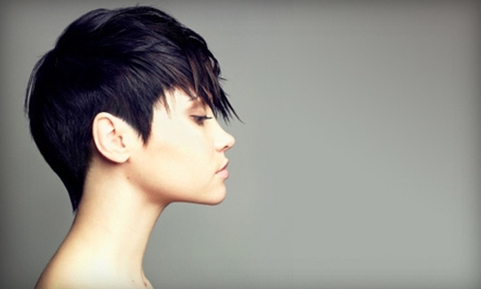 The Fix Hair Garage - Victoria: $45 for Wash, Haircut, Style, and Deep-Conditioning Treatment at The Fix Hair Garage ($100.80 Value)